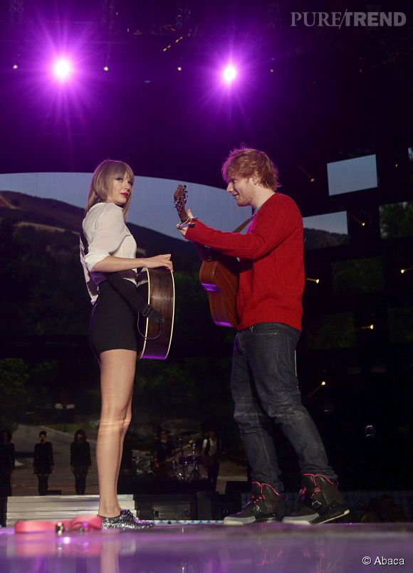 "Ed Sheeran a fait la première partie de Taylor Swift sur son ""Red Tour"" avant de faire trois show sold out au Madison Square Garden."