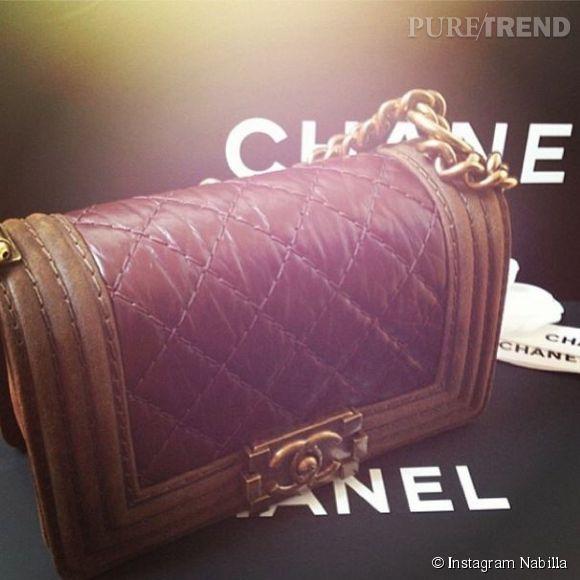 Nabilla et les sac Boy de Chanel... Une grande histoire d'amour !