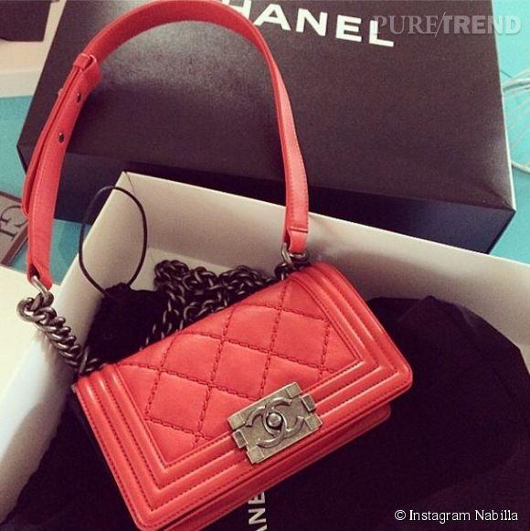 Nabilla et les sacs Boy de Chanel... Une grande histoire d'amour !