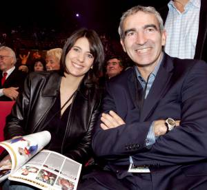 Estelle Denis et Raymond Domenech, le couple 100% foot en 12 photos