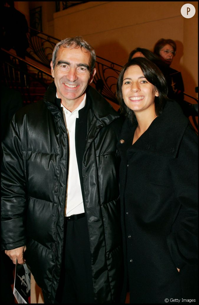 Raymond domenech et estelle denis roland garros en 2005 - Raymond domenech estelle denis ...