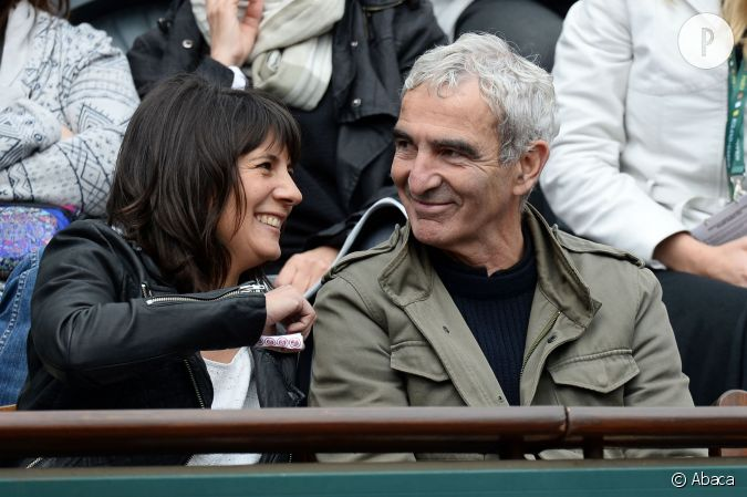 estelle denis et raymond domenech en 2014. Black Bedroom Furniture Sets. Home Design Ideas