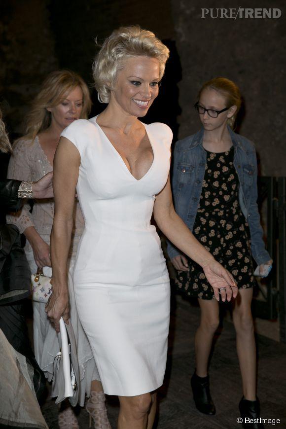 Avec les années, Pamela Anderson a su (un peu) calmer le jeu. La preuve en juin dernier.