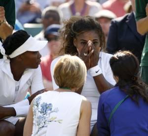 Serena Williams en larmes à Wimbledon, la n°1 mondiale bientôt détrônée ?