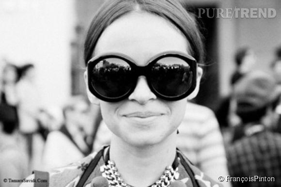 Miroslava Duma l'unique égérie de la marque François Pinton.