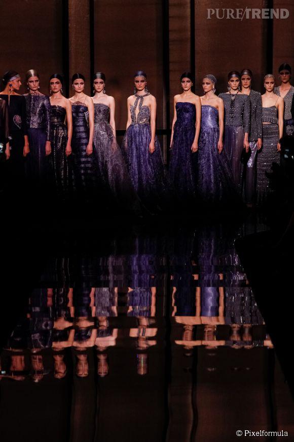 Défilé Giorgio Armani Privé Haute Couture Printemps-Eté 2014.