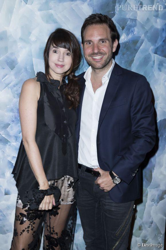 Christophe Michalak et sa femme Delphine McCarty fêteront leur premier anniversaire de mariage le 31 août 2013.