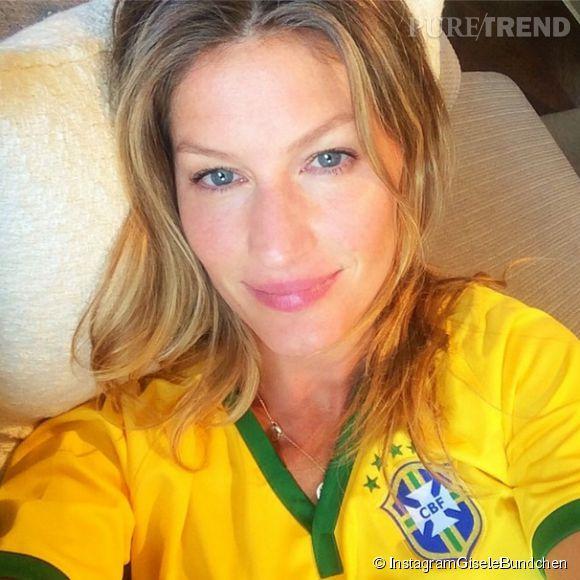 Gisele Bündchen a posté une flopée de photos personnelles sur Instagram, pendant le mondial au Brésil.