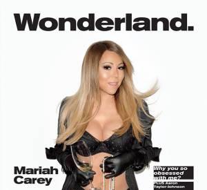 """Mariah Carey en Une du numéro été 2014 du magazine """"Wonderland"""" shooté par Terry Richardson."""