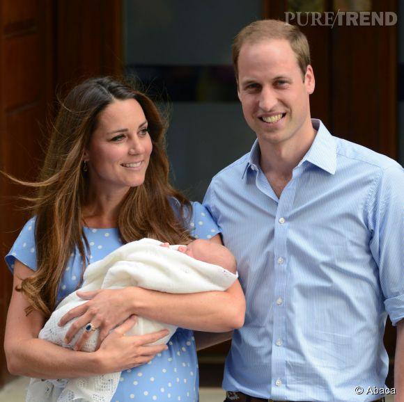 Le duc et la duchesse de Cambridge, heureux parents d'un petit George grâce au Dr. Setchell.