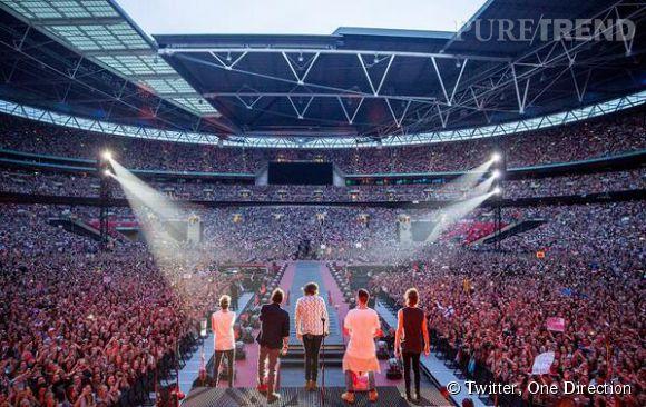 Les One Direction de retour au cinéma pour un week end seulement.
