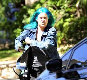Tallulah Belle Willis : cheveux bleus à l'honneur !