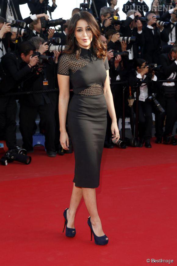 Leïla Bekhti au festival de Cannes 2013.