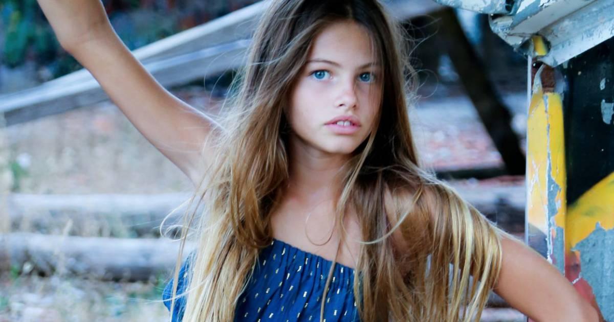 Thylane blondeau mannequin et actrice en herbe la fille de v ronika loubry - Thylane blondeau taille ...