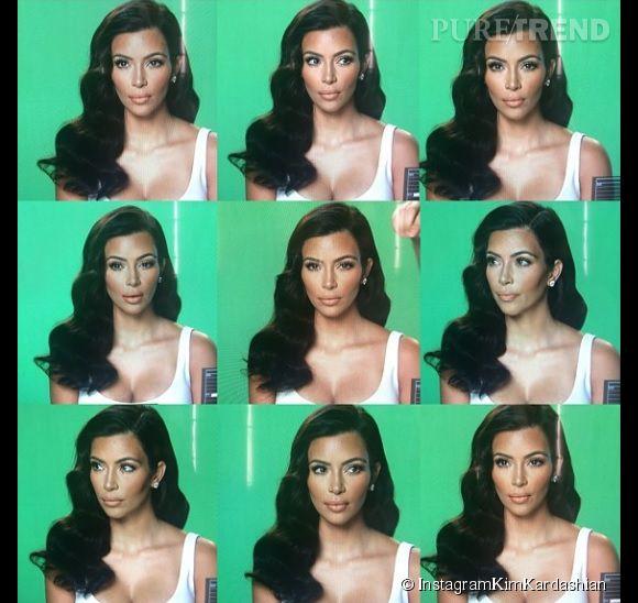 Kim Kardashian essaye de nous montrer les différentes facettes de sa géniale personnalité sur Instagram. On n'ose pas lui dire mais toutes ses photos semblent similaires. Kim au cinéma, ça ne risque pas d'arriver...