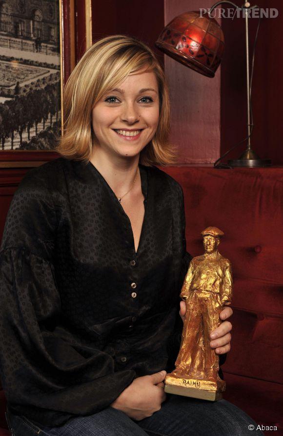 Delphine Depardieu lors de la cérémonie du Prix Raimu en 2008.