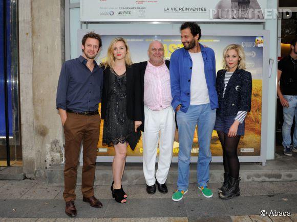 """Delphine Depardieu est actuellement à l'affiche du film """"Hasta Manana"""" dont l'avant-première a eu lieu le 29 juillet 2014 en sa présence mais aussi celle de Xavier Inbona, Mehdi Nebbou, Jean-Christophe Bouvet et Alysson Paradis."""
