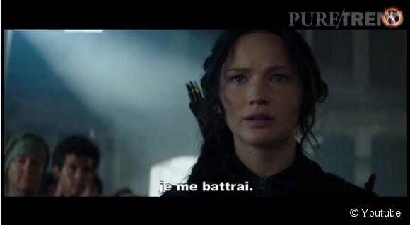 """Jennifer Lawrence symbole de la lutte contre le Capitol dans """"Hunger Games - La Révolte : Partie 1"""""""