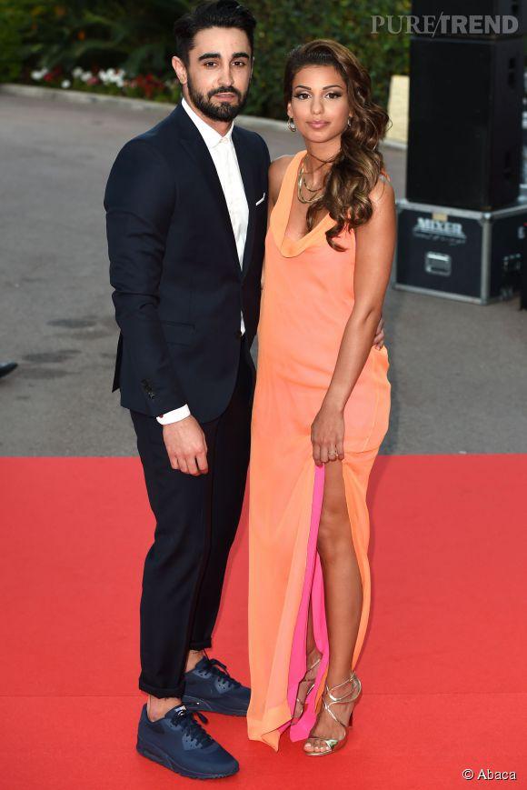 Tal et son petit ami Anthony lors des World Music Awards à Monaco en mai 2014.