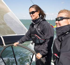 Pippa Middleton : la sirène prend l'eau avec le sourire