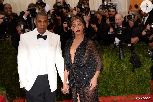Beyonce et Jay-Z au Gala du MET 2014 à New York, si on leur avait dit ça il y a dix ans, pas sûrs qu'ils nous aient cru !