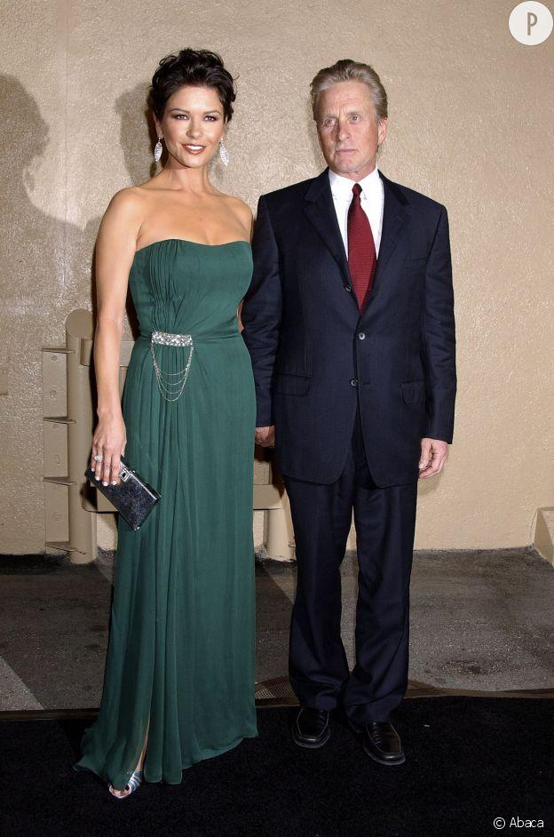 Catherine Zeta-Jones et Michael Douglas en octobre 2007, on aurait pourtant pas miser beaucoup sur leur histoire au début ...