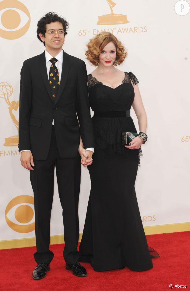 Christina Hendricks et son mari Geoffrey Arend n'ont absolument rien à voir ! Et pourtant, ça marche fort.