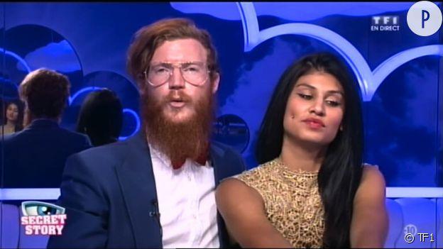 """Geoffrey et Jessica : le couple improbable de """"Secret Story 8""""."""