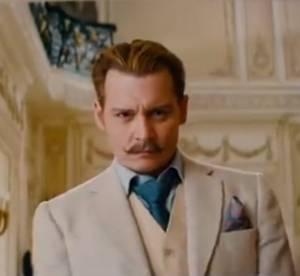 """Johnny Depp : héros moustachu et idiot de """"Mortdecai"""""""