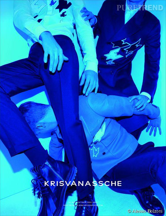 Campagne Kris van Assches Automne-Hiver 2014/2015.