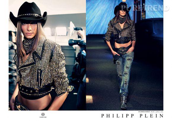 Campagne Philipp Plein Automne-Hiver 2014/2015.