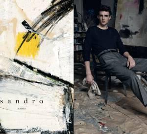 Campagne Sandro Automne-Hiver 2014/2015.