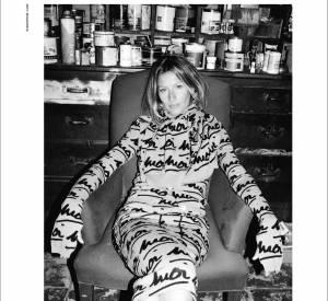 Campagne Sonia Rykiel Automne-Hiver 2014/2015 avec le mannequin Gisele Bündchen.