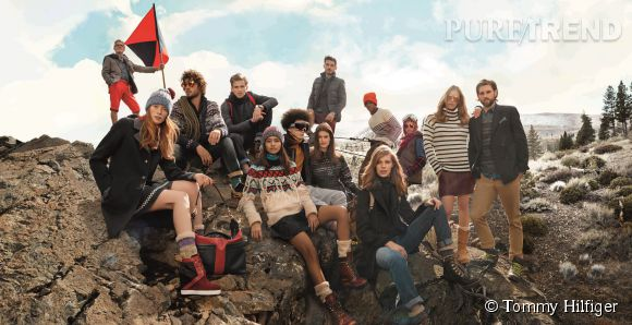 Campagne Tommy Hilfiger Automne-Hiver 2014/2015.