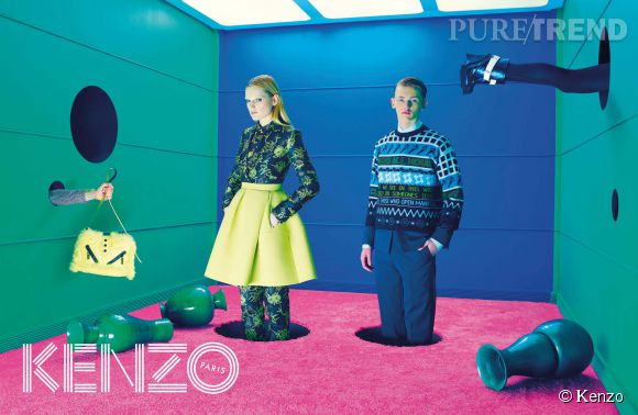 Campagne Kenzo Automne-Hiver 2014/2015.