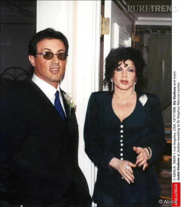 Sylvester Stallone et sa maman Jackie.