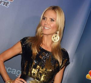 Heidi Klum super hot et maxi bling, la crise de la quarantaine continue