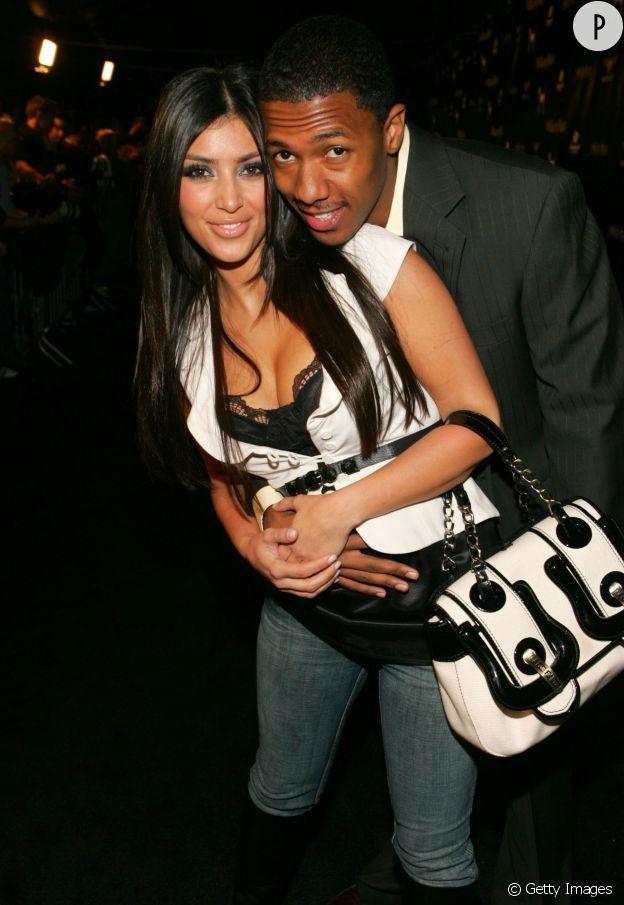 Kim Kardashian et Nick Cannon