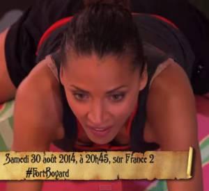 """Noémie Lenoir a fait grimper la température sur France 2 dans """"Fort Boyard""""."""