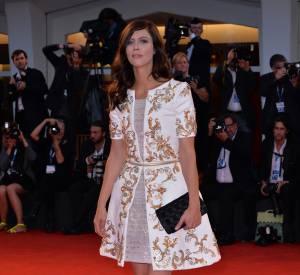 Anna Mouglalis divine à Venise le 1er septembre 2014.