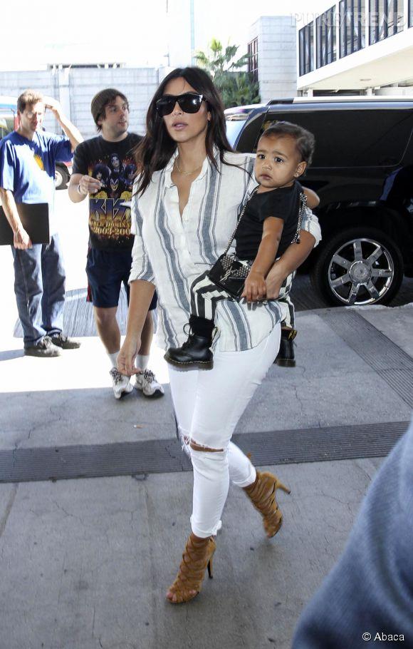 Kim Kardashian Et North Le Style De M Re En Fille