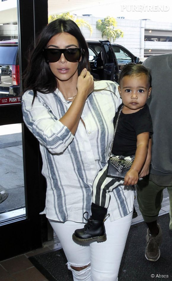 Kim Kardashian et North son mini moi.