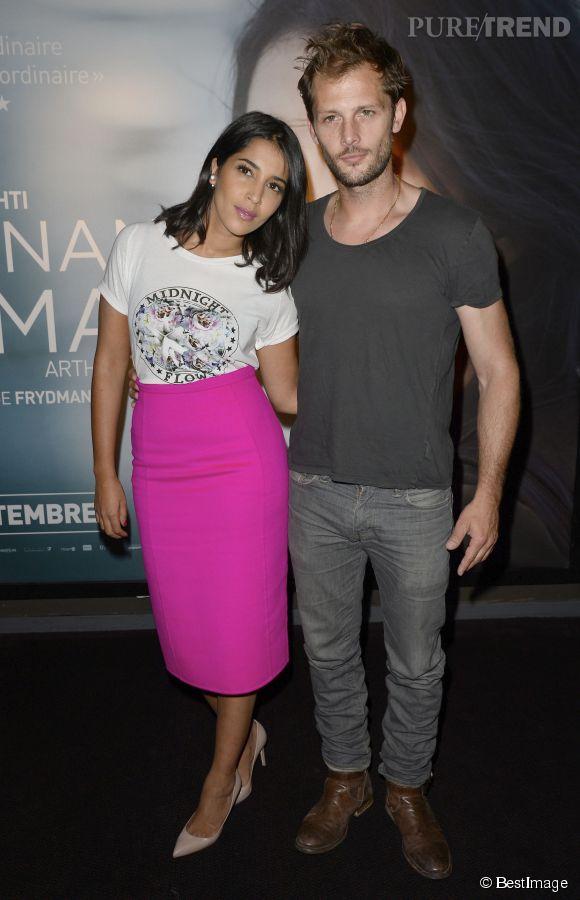 """Leïla Bekhti et Nicolas Duvauchelle, les deux acteurs principaux du film """"Maintenant ou jamais""""."""