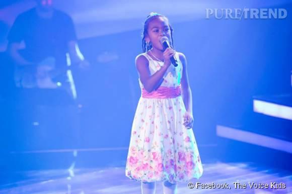 """Parmi les 10 chanteurs les plus mémorables de """"The Voice Kids"""" figure la petite Allemande Chelsea Fontenel."""