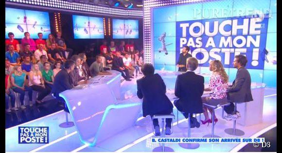 """Enora vs Julien Courbet, la première prise de bec qui en dit long sur la nouvelle saison de l'émission """"Touche pas à mon poste""""."""