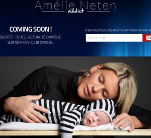 """Le site """"Amélie Neten addict"""" ouvrira prochainement. A réserver aux fans..."""
