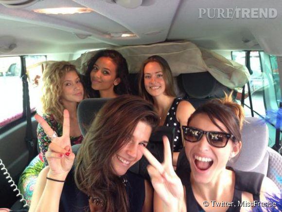 Flora Coquerel a repris la route pour les différentes éléctions des Miss régionale. Rachel Legrain-Trapani a d'ailleurs rejoint l'équipe.