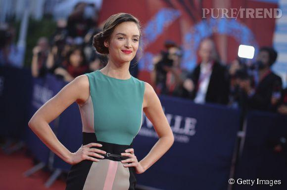 Charlotte Le Bon à Deauville le 7 septembre 2014.