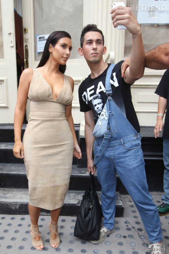 Kim Kardashian aime être absolument parfaite, tout le temps, partout.