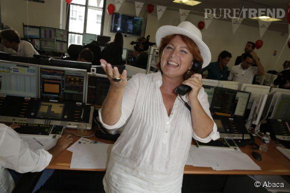 L'ancienne commissaire Julie Lescaut, Véronique Genest, était de la partie.